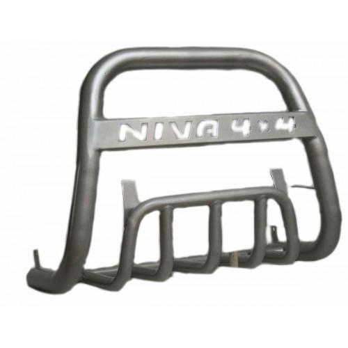Защита передняя Дуга Niva 4x4 с защитой картера d63.5