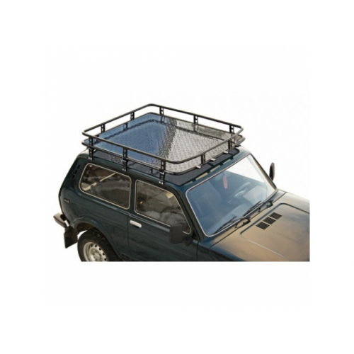 Багажник экспедиционный Трофи с алюминиевой площадкой