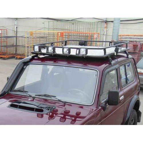 Багажник экспедиционный с дюралевой площадкой