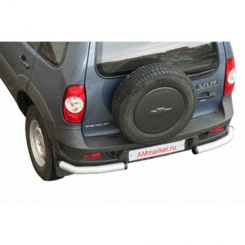 Защита задняя Уголки RS