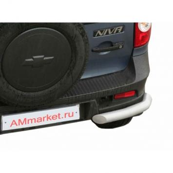 Защита задняя Уголки Люкс RS