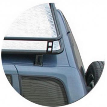 Багажник экспедиционный Трофи с алюминевой площадкой