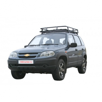 Багажник экспедиционный Трофи с сеткой
