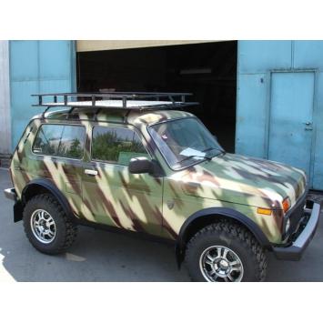 Багажник экспедиционный Бронто с алюминиевой площадкой