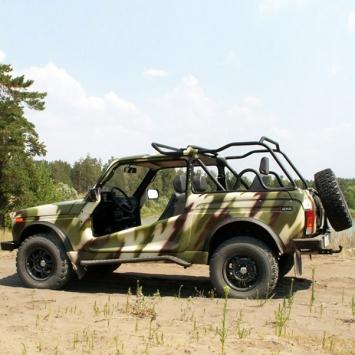 ВАЗ 21214 Рысь Десант - LADA 4x4