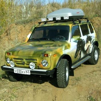 ВАЗ 2131 Рысь 2 - LADA 4x4