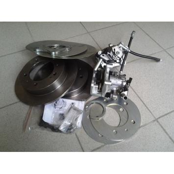 Задние дисковые тормоза