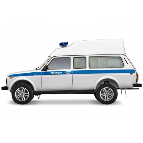 LADA 4x4 полицейский